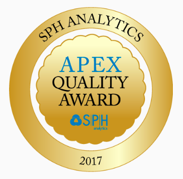 APEX QUALITY AWARD 2017